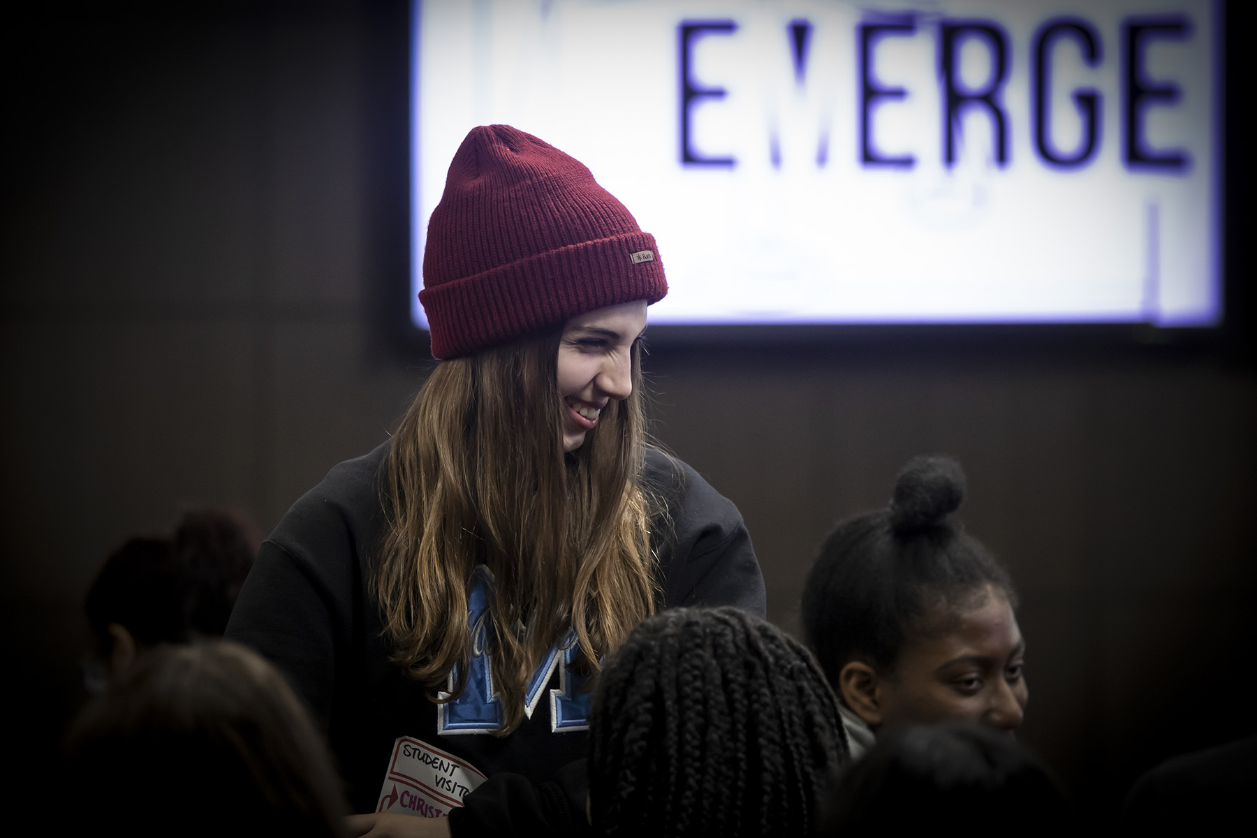 Student attending Emerge