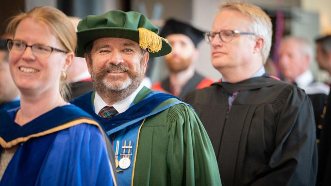 Dr. Glenn Hanna smiles