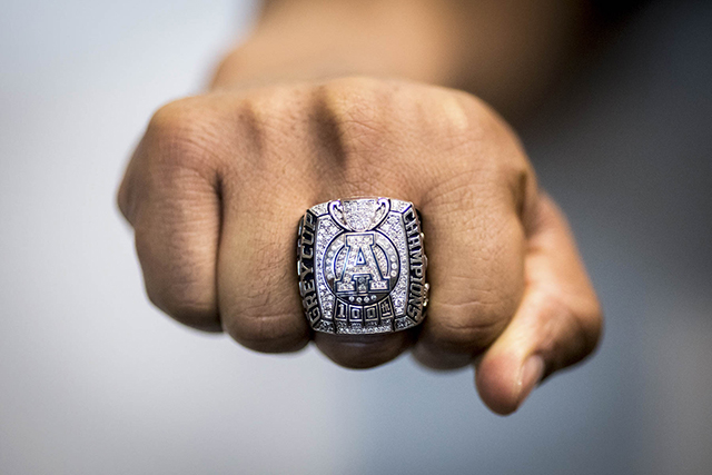 Matt Black's Grey Cup ring
