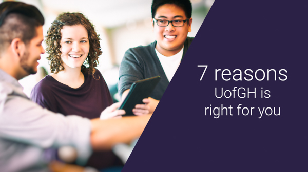 Top 7 Reasons to Say Yes - Why UofGH is right for you - image