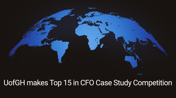 UofGH's team advances to the Top 15 of the CFO Case Study Competition - image
