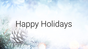Happy Holidays from UofGH - image