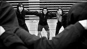 UofGH students practise for the Kin Games