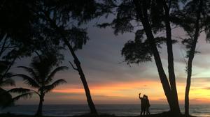 A Thai sunset