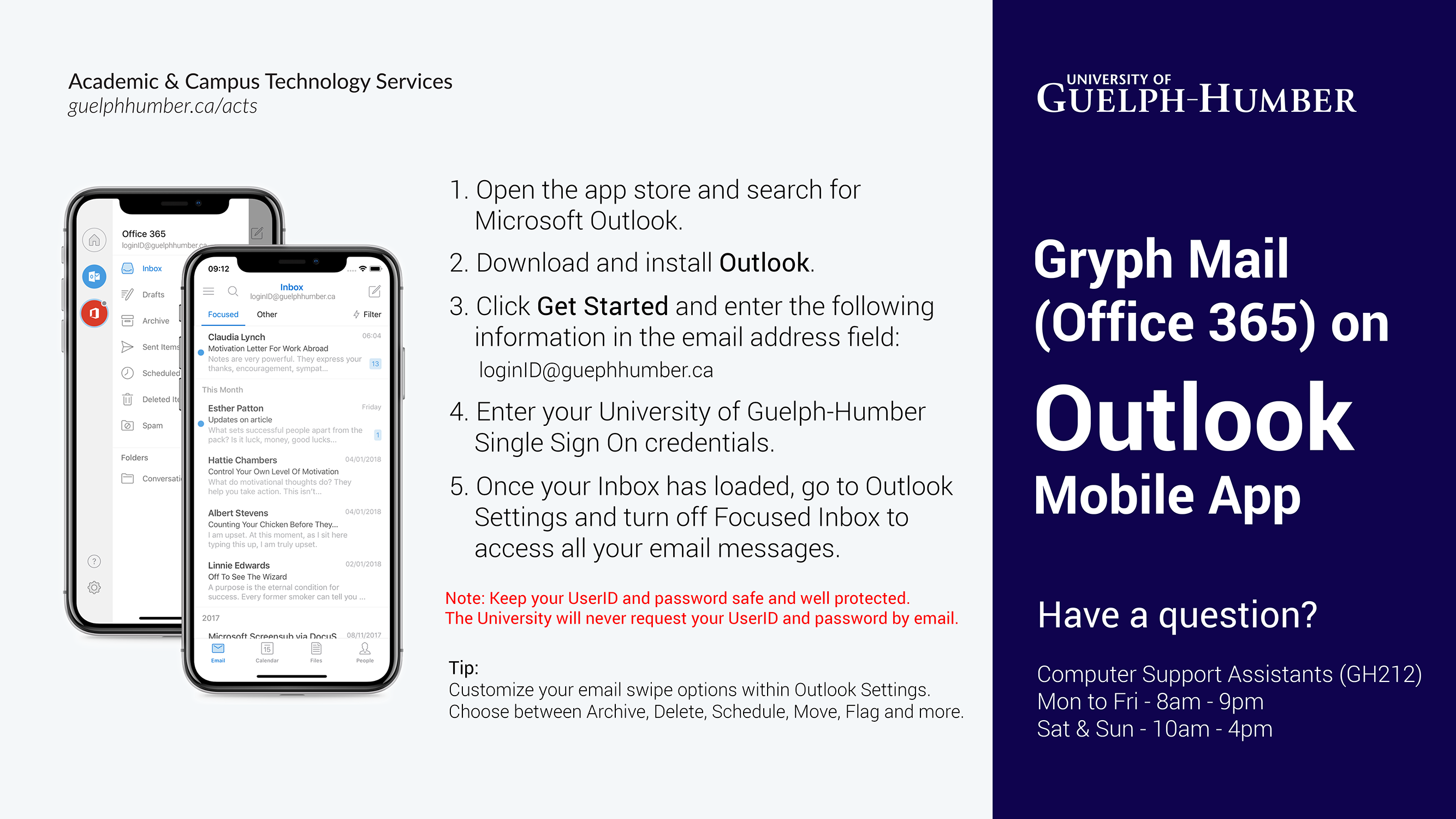 Gryph Mail (ACTS) | guelphhumber ca