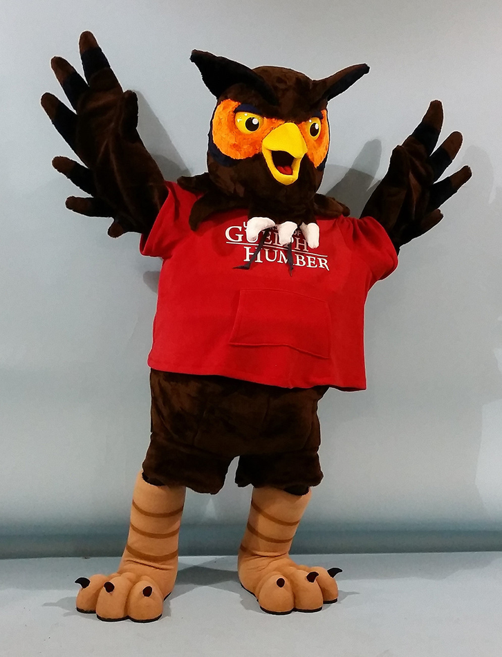 Image of UofGH mascot Swoop