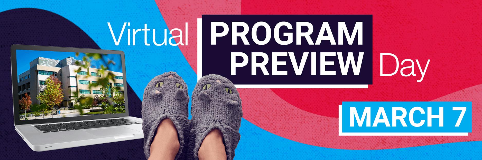 Virtual Program Preview Day: March 7