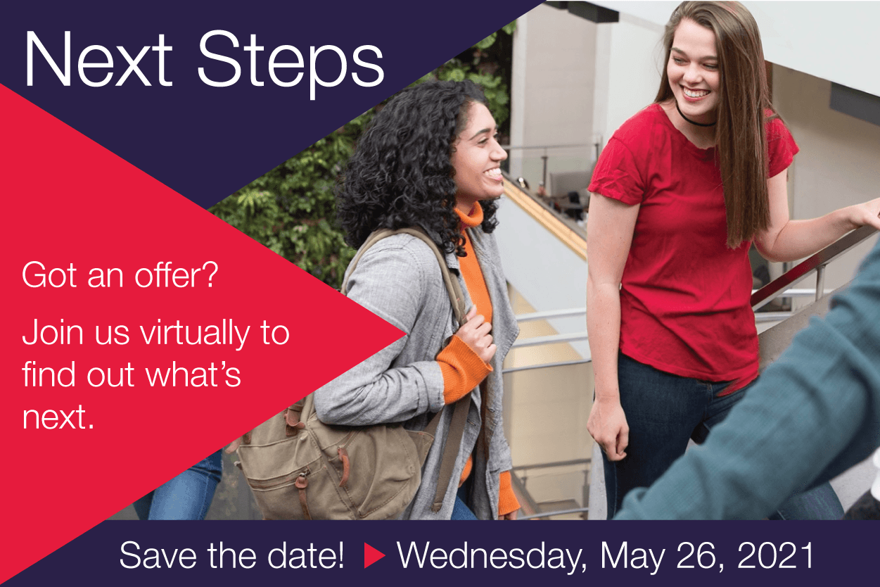 Save the date for Next Steps on May 26